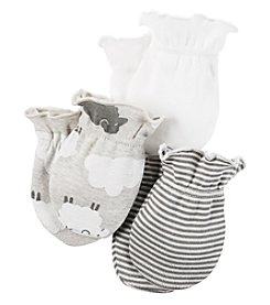 Carter's® Baby 3-Pack Sheep Mittens