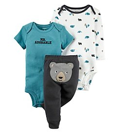 Carter's® Baby Boys 3-Piece Mr. Adorable Bear Set