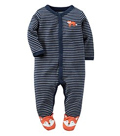 Carter's® Baby Boys Striped Fox Footie