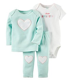 Carter's® Baby Girls' 3-Piece Little Sweetie Heart Set