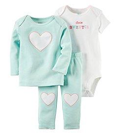 Carter's® Baby Girls' 3-Piece Little Sweetie Heart Set