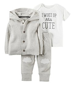 Carter's® Baby 3-Piece I Woke Up This Cute Clouds Set