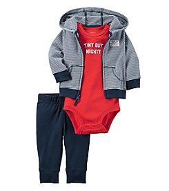 Carter's® Baby Boys 3-Piece Tiny But Mighty Hoodie Set
