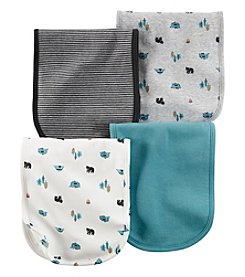 Carter's® Baby Boys 4-Pack Camping Burp Cloths