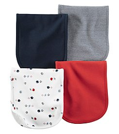 Carter's® Baby Boys 4-Pack Sports Burp Cloths