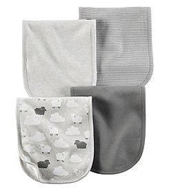 Carter's® Baby 4-Pack Sheep Burp Cloths