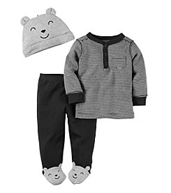 Carter's® Baby Boys' 3-Piece Bear Footed Set