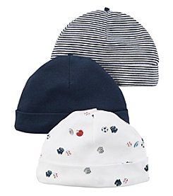 Carter's® Baby Boys 3-Pack Sports Caps