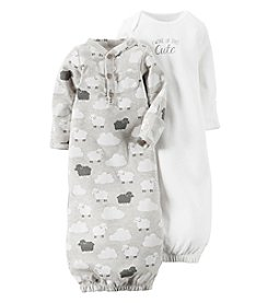 Carter's® Baby 2-Pack Clouds & Sheep Gowns