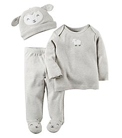 Carter's® Baby 3-Piece Sheep Footed Set