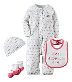 Carter's® Baby Girls' 4-Piece Adorable Geo Set