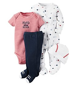 Carter's® Baby Boys' 4-Piece Sports Set
