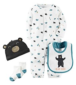 Carter's® Baby Boys' 4-Piece Bear Hugs Camping Set