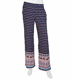 A. Byer Printed Palazzo Pants
