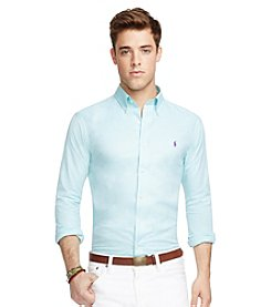 Polo Ralph Lauren® Men's Cotton Twill Long Sleeve Button Down Sport Shirt