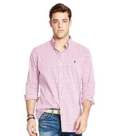 Polo Ralph Lauren® Men's Stretch Twill Long Sleeve Button Down Sport Shirt