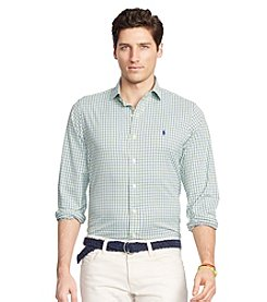 Polo Ralph Lauren® Men's Long Sleeve Twill Estate Button Down Shirt