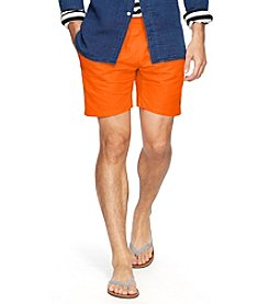 Polo Ralph Lauren® Men's Solid Hawaiian Boxer Swim Shorts
