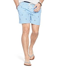 Polo Ralph Lauren® Men's Traveler Gingham Swim Shorts