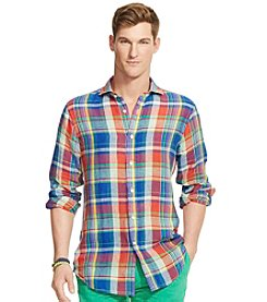 Polo Ralph Lauren® Men's Brownstone Long Sleeve Button Down Shirt
