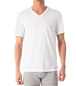 Michael Kors® Men's 3-Pack Short Sleeve White V-Neck Tees