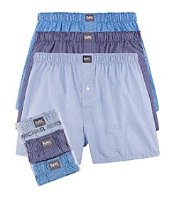 Michael Kors® Men's 3-Pack Woven Boxers