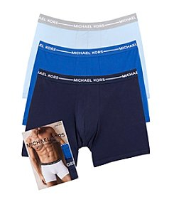Michael Kors® Men's 3-Pack Cotton Stretch Boxer Briefs