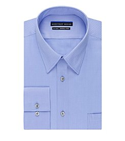 Geoffrey Beene® Men's Micro Chip Long Sleeve Button Down Shirt