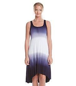 Karen Kane® Dip Dye High-Low Dress