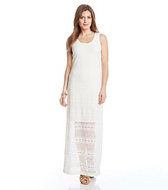 Karen Kane® Crochet Maxi Dress