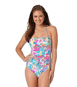 Anne Cole® This Bud's Bandeau One Piece
