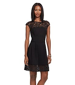 Lauren Ralph Lauren® Laser-Cut Ponte Dress