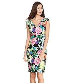 Lauren Ralph Lauren® Floral Cowlneck Dress