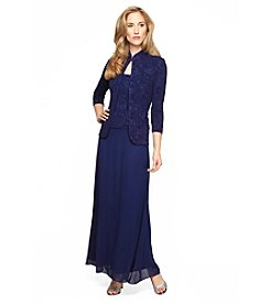 Alex Evenings® Long Jacket Dress