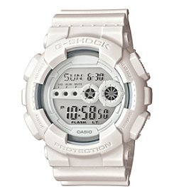 G-Shock Men's Xl All White Ana-Digi Watch