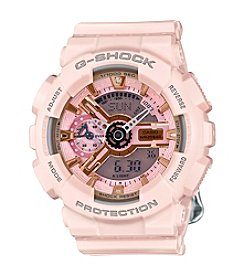 G-Shock Women's S-Series Blush Pink Analog-Digital Watch