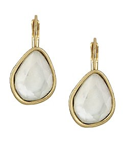 The Sak® Goldtone Small Stone Drop Earrings