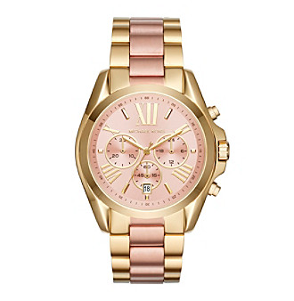 Michael Kors® Bradshaw Two Tone Stainless Steel Watch