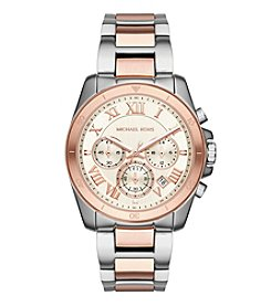 Michael Kors® Brecken Two Tone Chronograph Watch