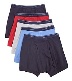 Jockey® Men's 5-Pack Boxer Briefs