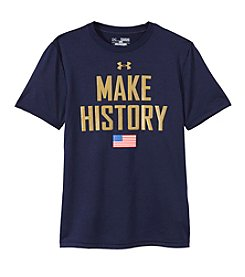Under Armour® Boys' 8-20 Short Sleeve Make History Tee