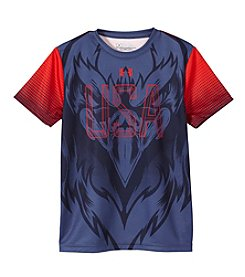 Under Armour® Boys' 8-20 Short Sleeve USA Eagle Tee