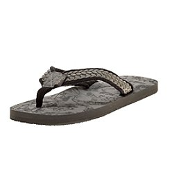 Paradise Collection® Men's Braided Thong Sandals