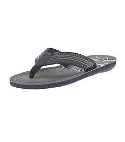 Paradise Collection® Men's Wave Fabric Thong Sandals