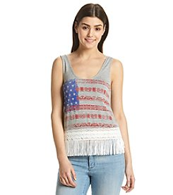 Sequin Hearts® Americana Tank