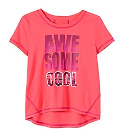 Exertek® Girls' 7-16 Short Sleeve Awesome Cool Active Tee