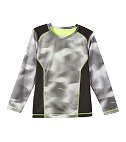 Exertek® Boys' 4-7 Long Sleeve Printed Active Tee