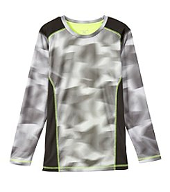 Exertek® Boys' 8-20 Long Sleeve Printed Active Tee