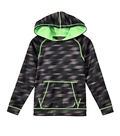 Exertek® Boys' 4-20 Long Sleeve Blur Printed Fleece Hoodie