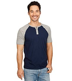 Lucky Brand® Men's Short Sleeve Stretch Notch Neck Tee